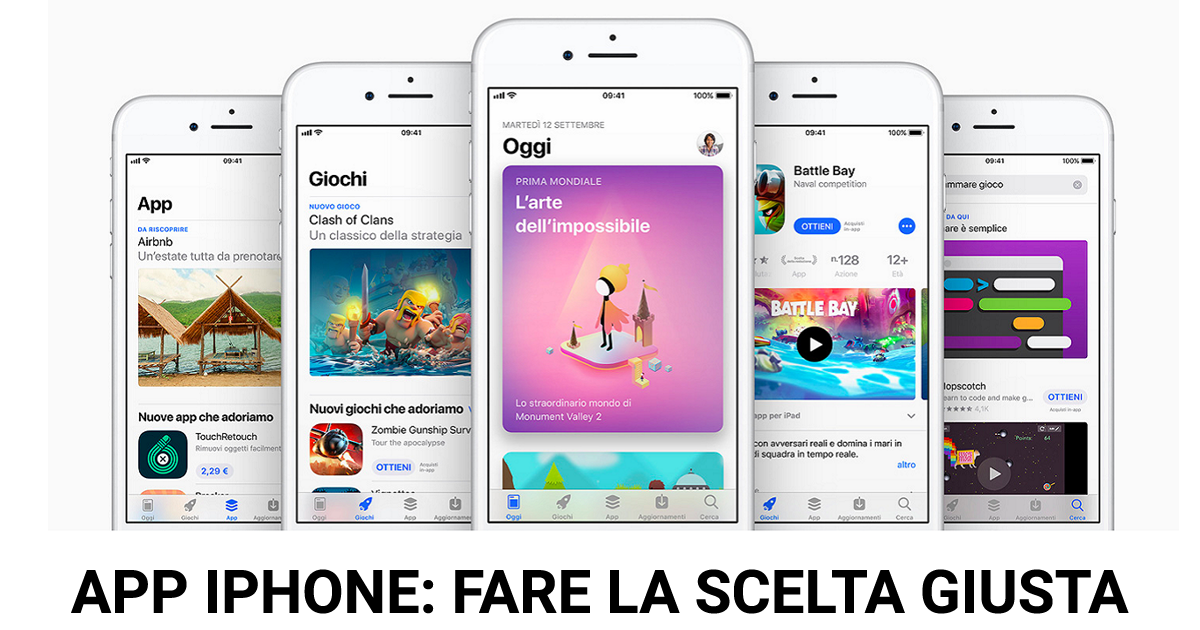 Applicazioni Per Iphone Come Fare La Scelta Giusta Ipermelacom