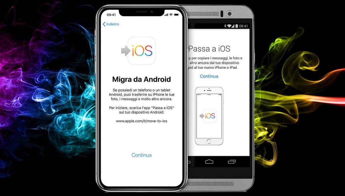 Da Android A Iphone Cambiare è Facile Ipermela