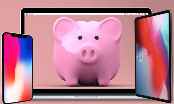 Perché buttare via i soldi? Risparmia con un Ricondizionato Apple